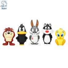 KRY Cartoon Cat Duck Rabbit Lion USB Flash Drive 2.0 4GB 8GB 16GB 32GB 64GB Creative USB Flash Drive Pendrive Free Shipping(China)