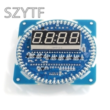 LED electronic bell DIY kit parts DS1302 clock 18b20 temperature display