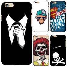 PC Case Cover For Apple iPhone 4 4S 5 5S SE 5C 6 6S 6Plus 6s+ Cases Newest Design Classical Character Back Cover Top Popular(China)