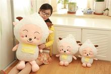 lovely plush goat toy the cartoon goat big stuffed toy the lazy goat about 80cm(China)