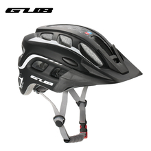 GUB Men Women Bicycle Helmets 19 Vents Ultralight Mountain MTB Bike Motor Helmet With Visor For Outdoor Cycling Casco Ciclismo(China)