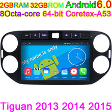 For Volkswagen VW Tiguan 2011 2012 2013 2014 Vehicle on board Computer Video Multimedia Music Player Android Head Unit GPS PC(China)