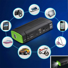 Mini Gasoline Engine Protable Jump Starter Laptop Power Bank Battery Terminals Power Jumper Car Battery Booster Charger