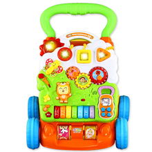 Baby toys to help children step car multifunctional walkers