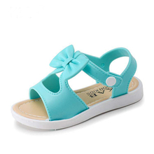 Buy Sale Children Shoes Girls Sandals Shoes Fashion Bowknot Comfortable Kids Casual Shoes Sandals Toddler Girls Princess Shoes for $5.69 in AliExpress store