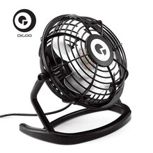 Digoo DF-001 Portable Mini USB Black Ultra-quiet Desk Cooling Fan Cooler For Laptop Notebook Home Office