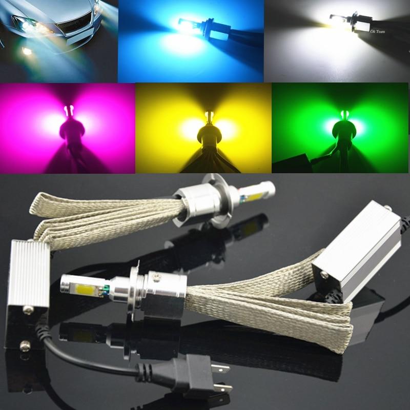2x H1 H3 H4 H11 H9 9005 LED Head Light H7 LED 30W/60W 12V/24V 7200LM Car Xenon Headlight Fog Lamp Light Kit Globes Bulbs<br><br>Aliexpress