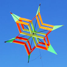 41 inch Colorful 3D Lotus Flower Kite Single Line Box Kite Outdoor sports Toy for kids stereo kite with flying line(China)
