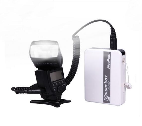 NiceFoto PA-2000C1 Speedlite Accessories PA Speedlite Power Box For Canon Camera, 2000mAh Li-ion Battery<br><br>Aliexpress