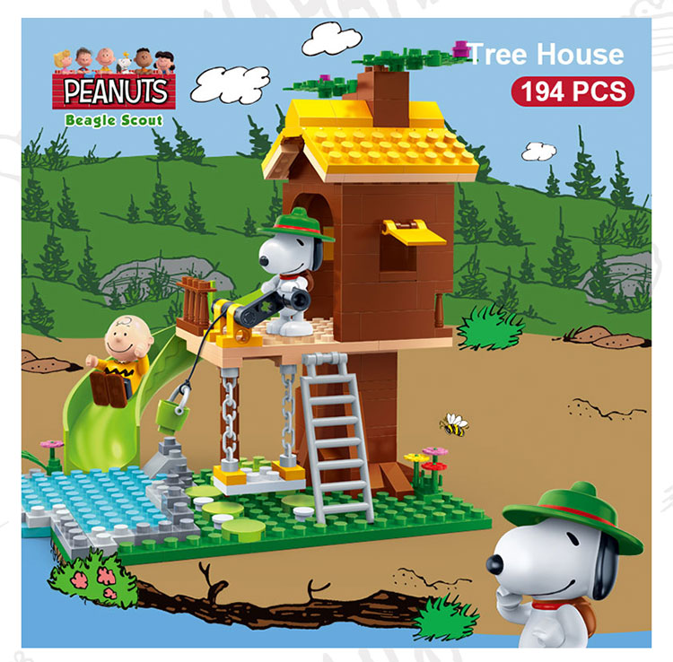 BanBao 7515 Tree House with Slide Building Blocks 19