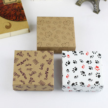 10*10*4 Fashion Square Simple Jewelry Box Pendant Bracelet Earrings Christmas Gift Boxes Jewelry Packaging Boxes Wholesale