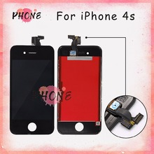 20 PCS/LOT 100% None Spot None Dust  For LCD iPhone 4S Screen Replacment, AAA Quality For iPhone 4S Display Screen