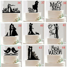 variety Styles Optional Acrylic Wedding Cake Topper Wedding Cake Stand Wedding Cake Accessories Wedding Cake Top Decoration
