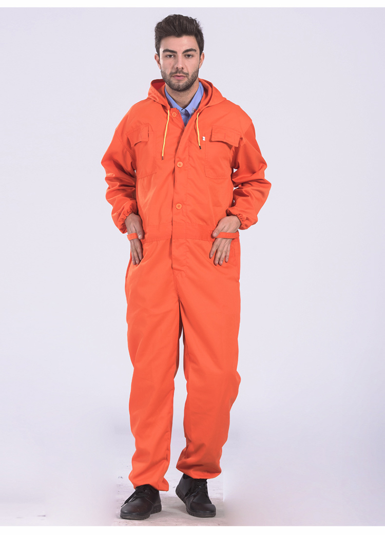 Work clothing Mens coverall repairman jumpsuits trousers working uniforms Workwear coveralls Plus Size long sleevel coveralls 40