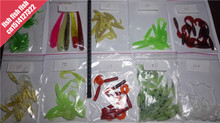 Road soft bait soft soft insect maggots 10 pack tail maggot curly tail worms 220 special offer(China)