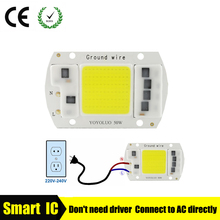 20W 30W 50W High Power Integrated COB Chip Lamp 110V 220V Matrix LED Spotlight DIY Projector Flood Light Outdoor Street Lampada(China)