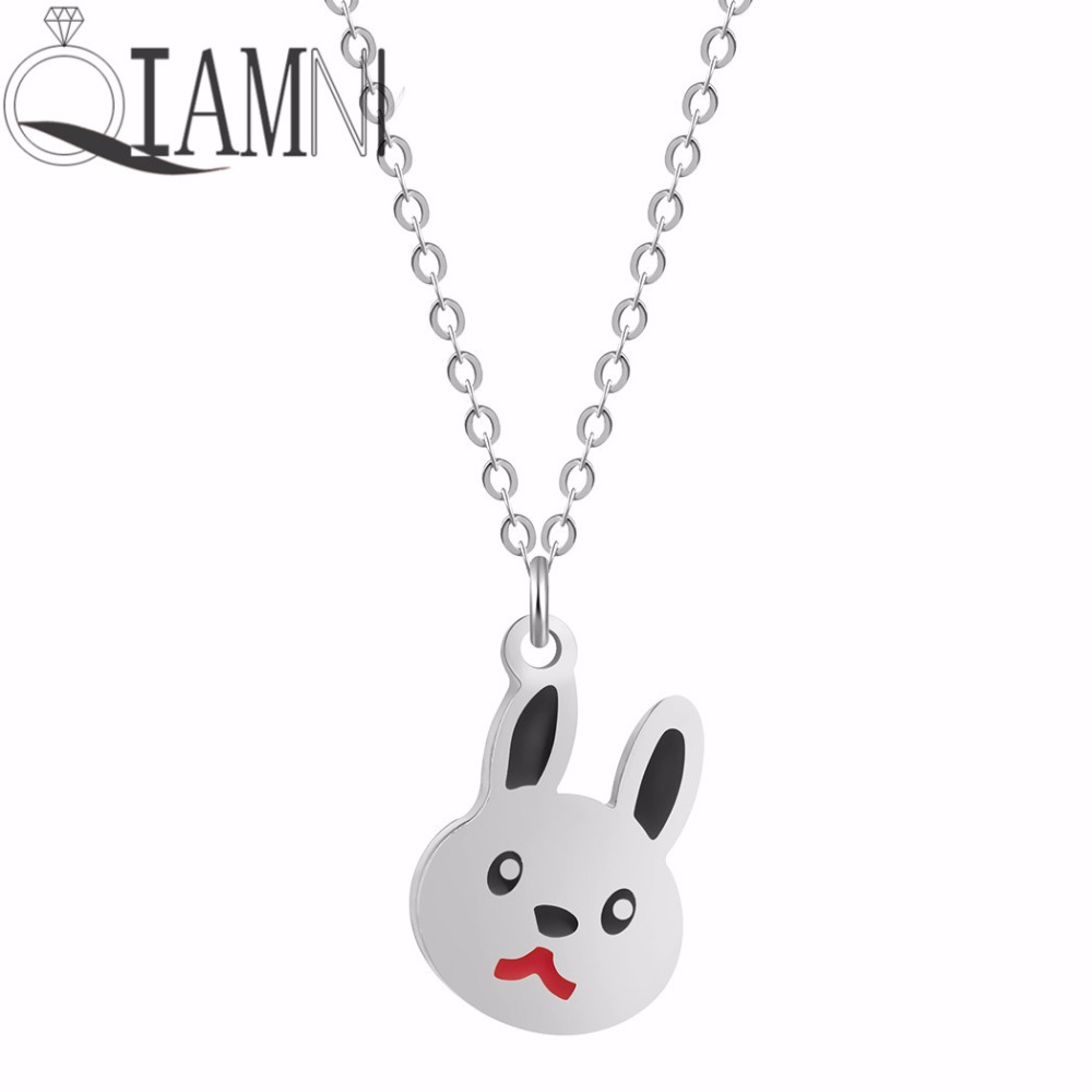 QIAMNI-Lovely-Rabbit-Animal-Bunny-Chain-Pendant-Necklace-Birthday-Pet-Lover-Gift-for-Women-K (1)
