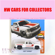 New Arrivals 2017 Hot Wheels 1:64 68th Chevy Silverado Metal Diecast Cars Collection Kids Toys Vehicle For Children Juguetes(China)