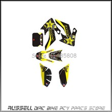 3M graphics kit decals sticker for honda MOTO dirt pit bike PARTS XR CRF50 NEW(China)