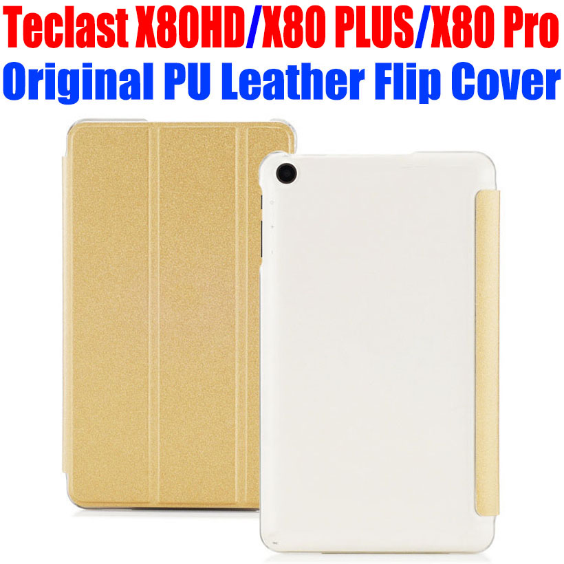 50pcs/Lot for Teclast X80HD X80 PLUS X80 Pro 8.0 tablet pc Case Original PU Leather Case Crystal Back Flip cover TL01<br><br>Aliexpress