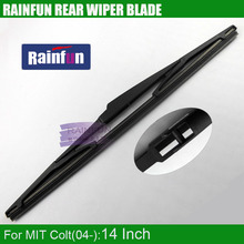 "Buy RAINFUN dedicated rear wiper blade MIT COLT, 14"" MITSUBISH COLT 04Y rear wiper blade for $7.73 in AliExpress store"