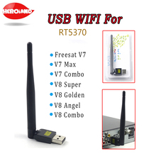 Original Freesat RT5370 USB WiFi Wireless Antenna LAN Adapter for Openbox Freesat V7 V8 Super For TV Set Top Box Stable Signal(China)
