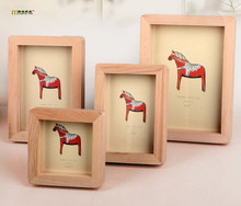 1PC 4 Size Best Deal New Good Quality Vintage Photo Frame Home Decor Wooden Wedding Couple Pictures Frames JL 0954
