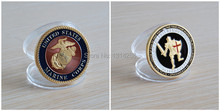 The sample order!U.S. Marine Corps USMC - Armor of God  Challenge Coin,free shipping 5pcs/lot