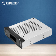 ORICO CD-ROM Space Tool Free Stainless Steel Internal Hard Disk Drive  5.25 inch Bay Hard Drive Caddy for 3.5 inch SATA HDD