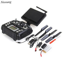 Niosung Modern JXD 509G 5.8G FPV With 2.0MP HD Camera High Hold Mode RC Quadcopter + Monitor