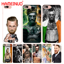 HAMEINUO conor mcgregor cell phone Cover case for iphone 4 4s 5 5s SE 5c 6 6s 7 8 X plus(China)