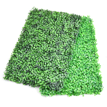 DIY Artificial Lawn Turf Green Grass Lawns Garden Market Store Wall Decor House Ornaments Decorative Plastic Turf 63*44cm(China)
