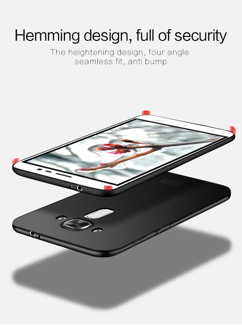 "Asus Zenfone 3 ZE552KL Case Hard Back Luxury Full Cover PC Plastic Mofi Original Phone Case For Asus Zenfone 3 ZE552KL 5.5"" 3"