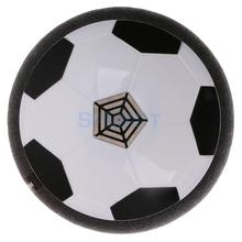 Floating Football Air Soccer Ball Kids Children Indoor Outdoor Game Fun Toy Gift