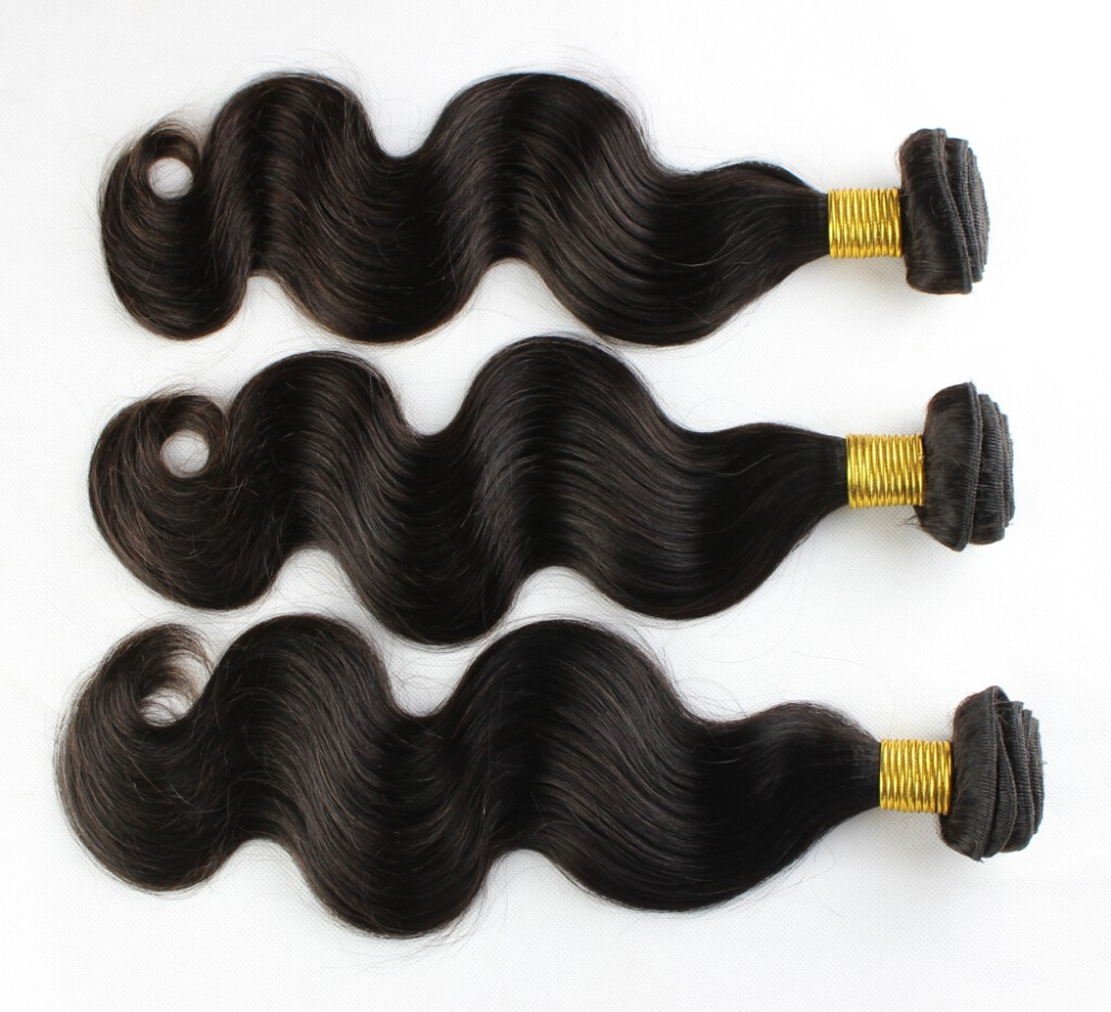 Ms lula virgin hair Indian body wave 5pcs/lot natural color can be dyed unprocessed human hair 8-32 customized1B/2#/4# color<br><br>Aliexpress