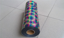 speacial color round multi hologram free shipping heat transfer film for DIY team clothes CDH-21