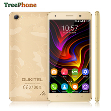 Smartphone Oukitel C5 Pro 4G Android 6.0 MT6737 Quad Core 5.0 inch HD IPS mobile phone 2GB RAM 16GB ROM 1280x720 GPS Cell Phone