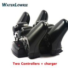 Waterlowrie SIXAXIS Controller + Charging Dock Stand Charger For SONY PS3 Dualshock 3 Playstation 3 Wireless Console Joystick