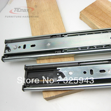 "NEW 20"" Full Extension steel Ball Bearings Hydraulic Soft Close Drawer Slide Cabinet Furniture Hardware Glides"