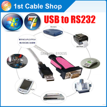 Free shipping&wholesale 5pcs/lot Z-TEK ZE533C FTDI USB to serial RS232 DB-9 RS-232 adapter/converter cable win8/win7(China)