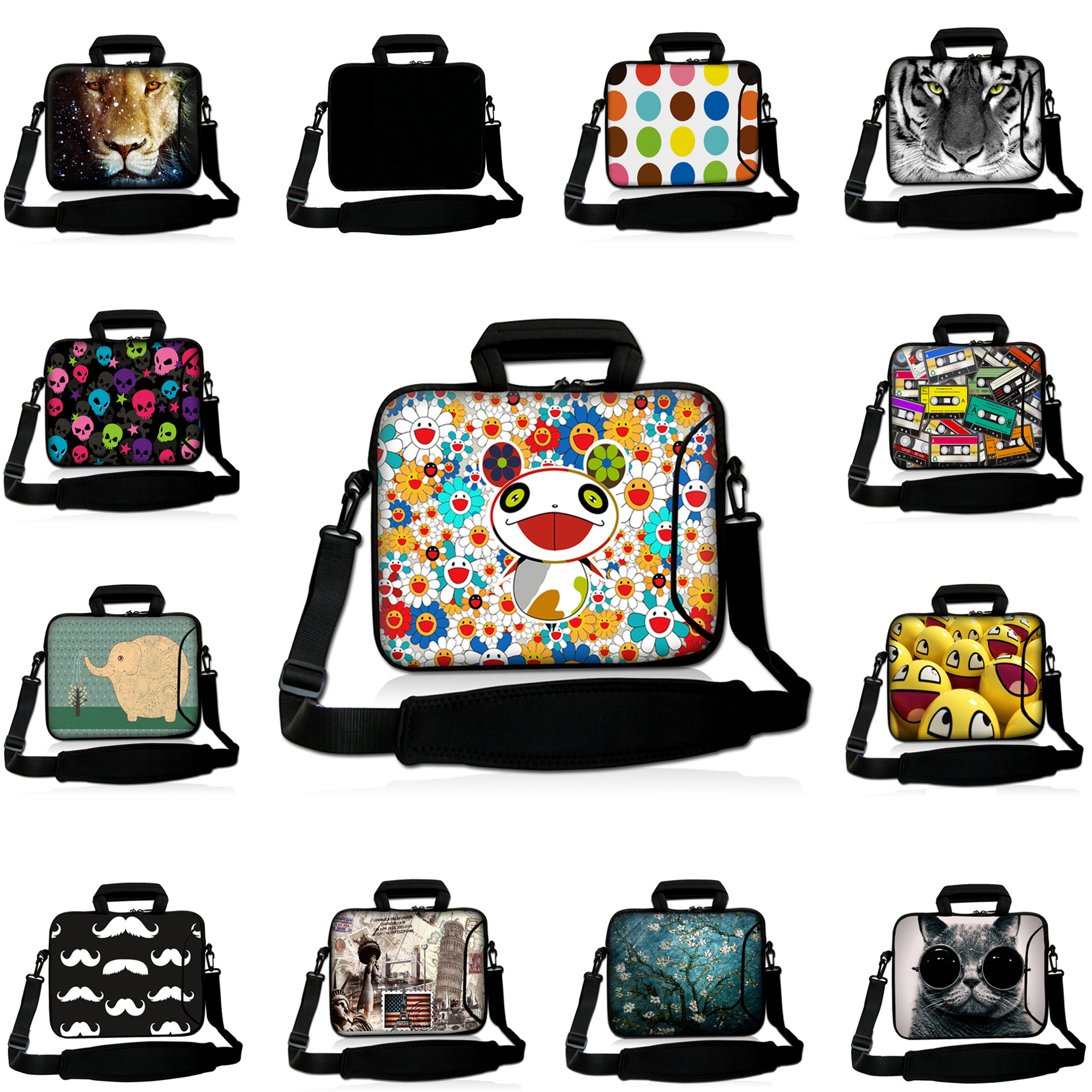 For Thinkpad 15 15.6 inch Neoprene Girls Computer Notebook PC Bags 15.3 15.4 inch Shoulder Strap Messenger Laptop Cover Cases<br><br>Aliexpress