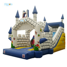Sea Shipping Hot Selling Giant Inflatable Kids Jumping Trampoline Castle Bouncer House Bouncing House(China)