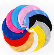 Drop ship Hot Swimming Cap for Children Summer Beach Accessory(China)