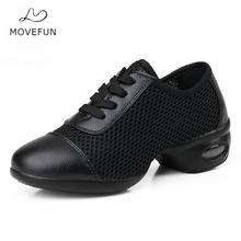 Buy MoveFun Dancing Shoe Sneaker Woman Breathable Modern Dance Jazz Shoes Girls Women Teachers Fitness Latin Practice Shoes-45 for $20.48 in AliExpress store