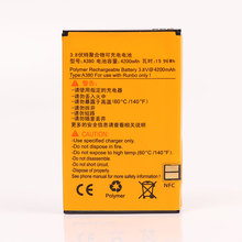 With NFC New In Stock 100% New 4200Mah Battery For Runbo X6 Q5 Smart Mobile Phone