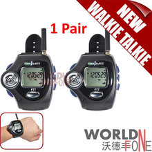 2pcs/ Pair Digital Wrist Watch Freetalker RD-820 Walkie Talkie Ham Radio Interphone 2-Way Radio With VOX Operation