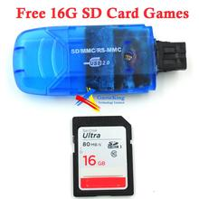 Dreamcast DC SD card adapter converter with indicator light free 16G SD card games