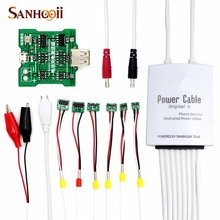 6 in 1 Battery Activation Board & Power Supply Phone Current Test Cable  for iPhone 5S 5 4S 4 6 and Plus