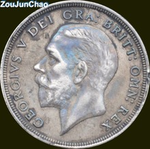 United Kingdom  Great Britain CROWN 1934 George V 90% Silver Copy Coin Kinds to Make Old Style