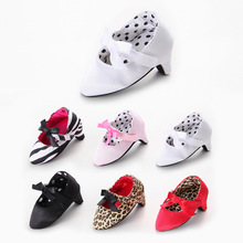 Fashion canvas Hot Sale Newborn Baby Girls Princess Baby Moccasins First Walkers Crib Prewalker High Heels Infant Shoes(China)